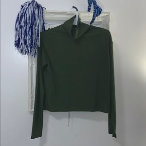 H&M divided Green turtle neck!